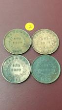 (JC) 4 pcs Sarawak 1 cent Coin Rajah CV Brooke 1927 / 1929 / 1930 / 1937 H - (2)