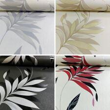 AS Creation Floral Leaf Pattern Wallpaper Embossed Glitter Stripe Motif Roll