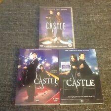Castle - Season 1, 2, 3 / Series 1-3 DVD - Region 1 & 2 - Nathan Fillion
