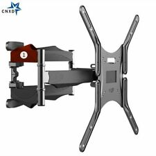 Retractable TV Rack Wall Mount 6 Swing Arm Universal Television Mounts Frame New