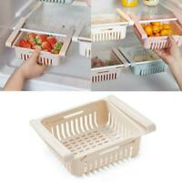 Einstellbare Drin Storage Rack Kühlschrank Partition Layer Organizer Küche neu