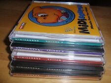 Musicware MiDisaurus Vol3/8/Rhythm/Composers/I nstruments Pc/Mac Cdrom 1998 5disc