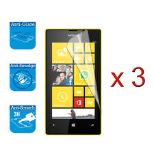 For Nokia Lumia 520 Screen Protector Cover Guard LCD Film Foil x 3