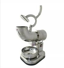 Stainless steel ice Crusher Shaver machine Snow Cone Maker Shaved Ice