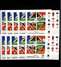/ 10X GIBRALTAR - MNH - FLAGS - SPORTS - SOCCER - WHOLESALE