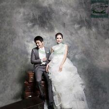 6x9ft Photography Muslin Tie Dye Backdrop Photo Studio Grey Cotton Background US