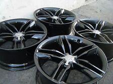 "19 Audi A5 S5 Wheels Rims Factory OEM Stock BLACK FINISH 19"" 58828"