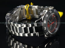 New Invicta 47mm Grand Speedway ISA 6371D Chronograph Deep Charcoal SS Watch