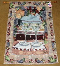 Wine Country ~ The Vineyard Grapes Tapestry Wall Hanging ~ Artist, Anne Ormsby