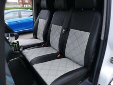 VW CRAFTER HIGH QUALITY SEAT COVERS FULL ECO LEATHER AND DIAMOND STITCHING