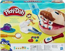 Set Dentista Play-Doh Dottore Trapanino Con 5 vasetti di pasta Play-Doh