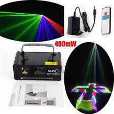 400mW RGB DJ Party Stadiums Disco Laser Licht Show DMX512 Bühnenbeleuchtung