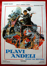 ELECTRA GLIDE IN BLUE 1973 ROBERT BLAKE BILLY BUSH UNIQUE EXYU MOVIE POSTER #2
