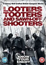 Looters, Tooters and Sawn-Off Shooters (DVD, 2014) British Gangster NEW SEALED