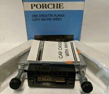 PORCHE MODEL CR-16 RARE!! CAR CASSETTE AM/FM NEW IN BOX!!