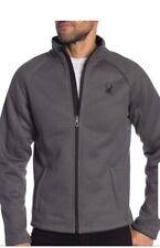 Spyder Polar Steller Full-Zip Jacket Grey Size Medium NWT $169