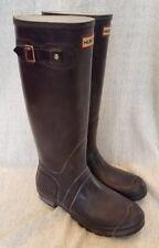 Women's Hunter Tall Rain Boots Size 8 in Dark Purple/Plum