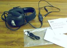 Pilot Aviation Headset QFR Solo C SoloC Manual Accessories Little used Clean AN