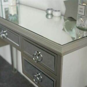 Mirrored vanity 5 drawers w/ dimensions available