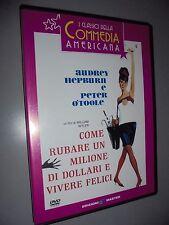DVD COME RUBARE UN MILIONE DI DOLLARI E VIVERE FELICI N° 20 COMMEIA MASTER
