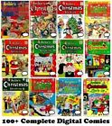 100+  ARCHIE GIANT Christmas Comics collection DVD 1954-1980 Betty Veronica