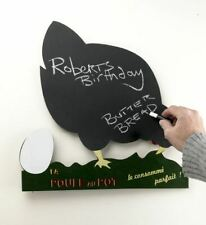 Vintage French Inspired Chicken Shaped Kitchen Chalk Note Board