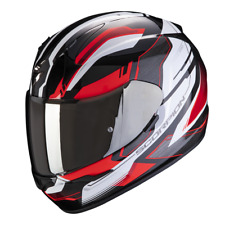 Casque intégral moto Scorpion EXO-390 BOOST Noir-Blanc-Rouge NEW 2021