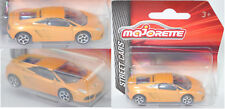 Majorette 212053051 Lamborghini Gallardo, goldgelb, 5 Speichen, 1:61 STREET CARS