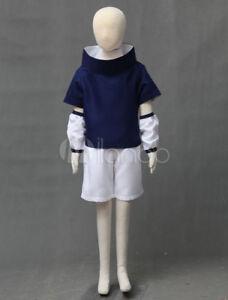 Naruto Uchiha Sasuke Halloween Cosplay Costume For Kids boys Japanese aniime