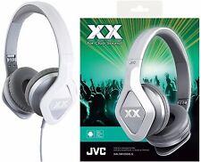 JVC HA-SR100X PLATEADO externos Club estilo Auriculares Remoto & Micrófono