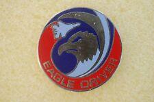 US USA Eagle Driver Military Hat Lapel Pin