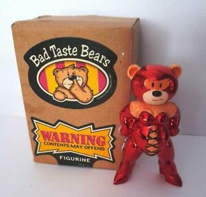 Bad Taste Bears Scarlet Chrome Limited Edition With Box