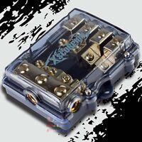 AFS//MIDI WAFER FUSES WITH LED LIGHT Car Marine USA 200 AMP 6 pcs GOLD MINI ANL