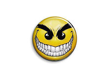 Smileys - Méchant 1 - Badge 56mm Button Pin