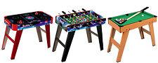 Indoor Soccer Table Football Air Hockey Pool Kids Play Foosball Gaming Games