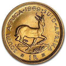 South Africa Gold 1 Rand AU (Random) - SKU #14522