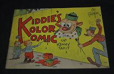 1934 KIDDIE'S KOLOR KOMIC by Faber (Grade FN+ 6.5)