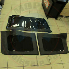 JEEP Wrangler JK 4 door Black Tinted Soft Top Window Kit NEW OEM MOPAR