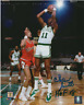 Celtics Charlie Scott 8*10 autographed photo with 2018 Hall of Fame inscription