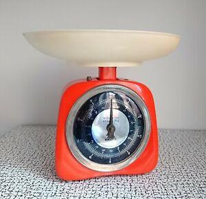 50s 60s Vintage Retro Kitsch Orange Krups Kitchen Weighing Scales Ireland Baking