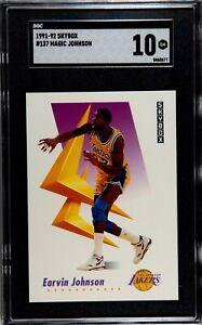 1991 SkyBox Magic Johnson #137 (SGC Graded 10 - GM)