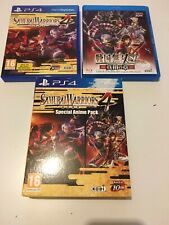 🤩 samurai warriors 4 ps4 playstation ps 4 pal uk spécial anime pack blu-ray dvd