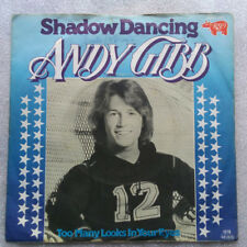 "7""  ANDY GIBB  **  SHADOW DANCING  **     VG++"