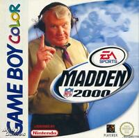 MADDEN NFL 2000                      -----   pour GAME BOY COLOR