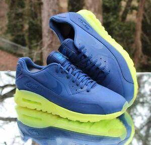 Nike Air Max 90 Ultra Coastal Blue Women's Size 11 Volt 845110-400 Men's Size 9