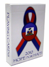 Bicycle 2010 Hope for Haiti Relief Deck Playing Cards, Regular Index, red, blue