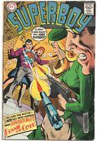 Superboy 149 DC 1968 VG FN Neal Adams Superman Bonnie Clyde Rifle