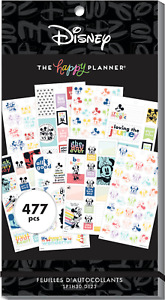DISNEY The Happy Planner COLORBLOCK MICKEY MINNIE Value Pack Stickers MAMBI