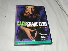 Snake Eyes (1998) Dvd Nicolas Cage Gary Sinise Carla Gugino Brian De Palma