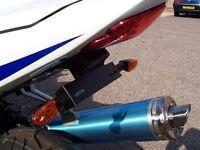 R&G Tail Tidy / Licence Plate Holder Suzuki GSX R600 K5 2005 LP0005BK Black